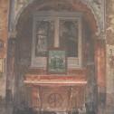Particolare- altare dei  SS. Medici
