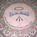 Cappella del Crocifisso- particolare del pavimento in maiolica